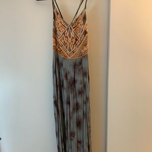 Ecoté maxi dress from Urban Outfitters.